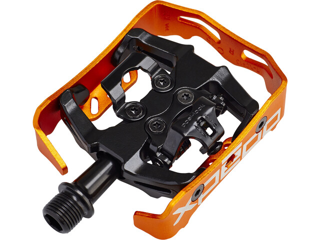 Xpedo Clipless Milo Pedals black/orange